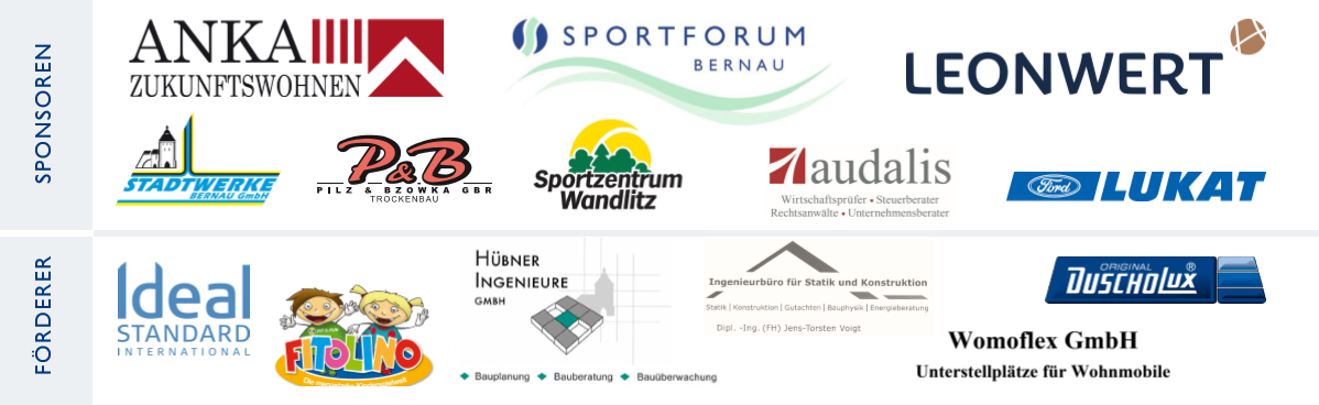 2017 Berlin Indoor Senior Open Sponsors